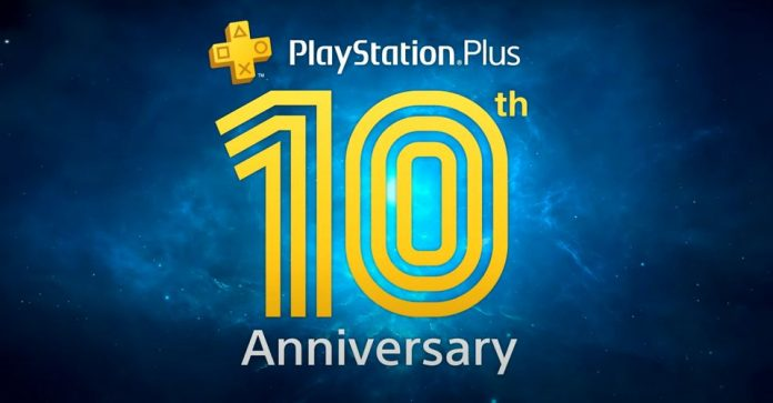 free psn credit ps plus playstation plus 10 years