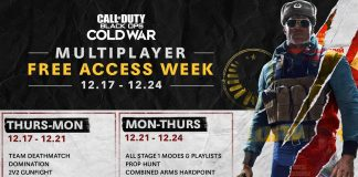 CCall of Duty: Black Ops Cold War Free Weekend